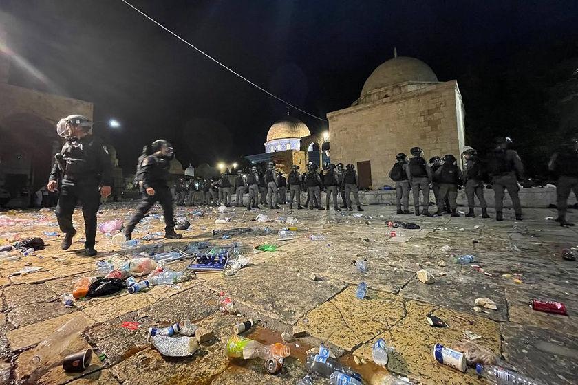 巴以在东耶路撒冷发生冲突