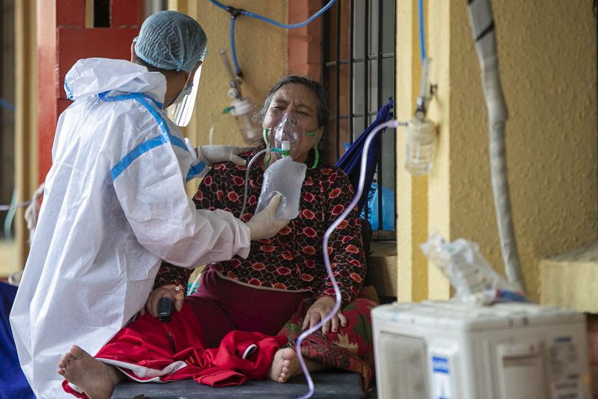 尼泊尔疫情持续恶化