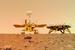 天问一号探测器着陆火星首批科学影像图揭幕