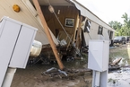 热带风暴侵袭美国阿拉巴马州