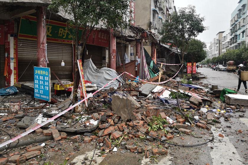 四川泸州市泸县发生6.0级地震 救援已有序开展